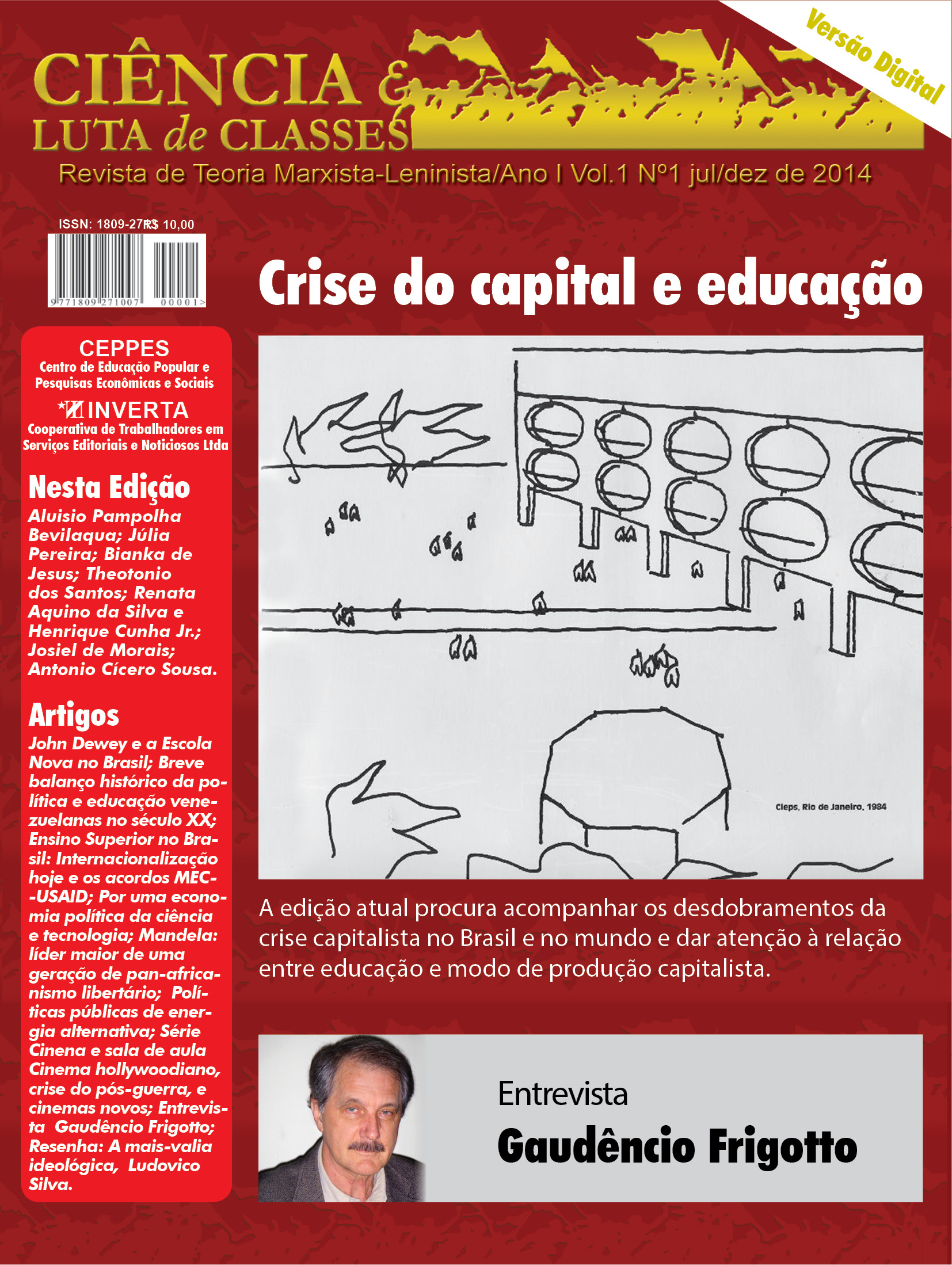 Visualizar v. 1 n. 1 (2014): Crise do Capital e Educação