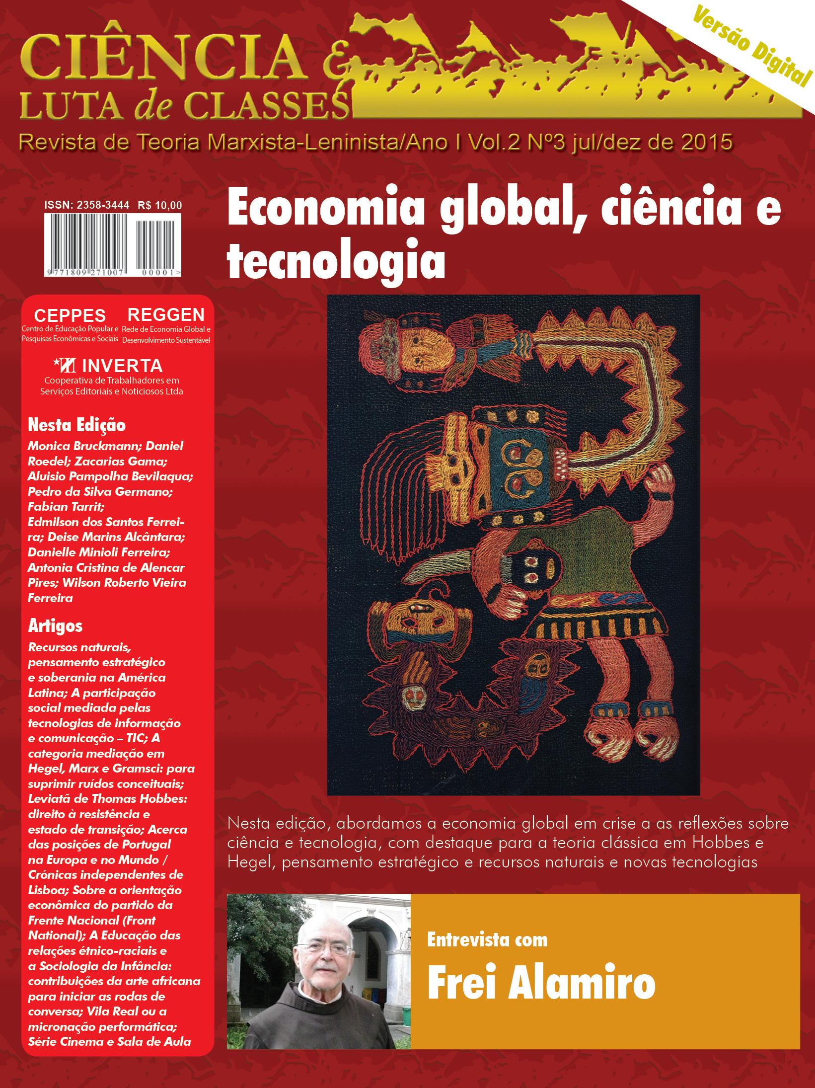 Visualizar v. 2 n. 3 (2015): Economia global, ciência e tecnologia